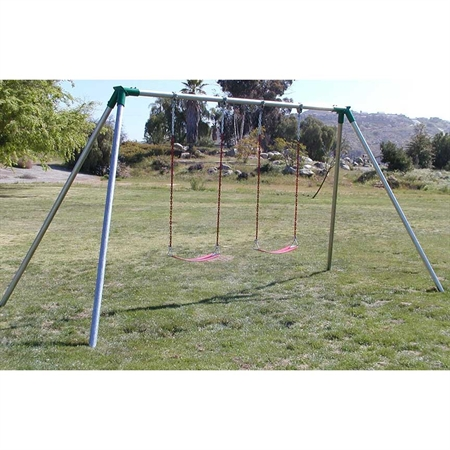 ADA swing seat frames with 2 Strap Seats- 8 ft.