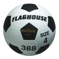 FlagHouse Active Series Rubber Soccer Ball #4