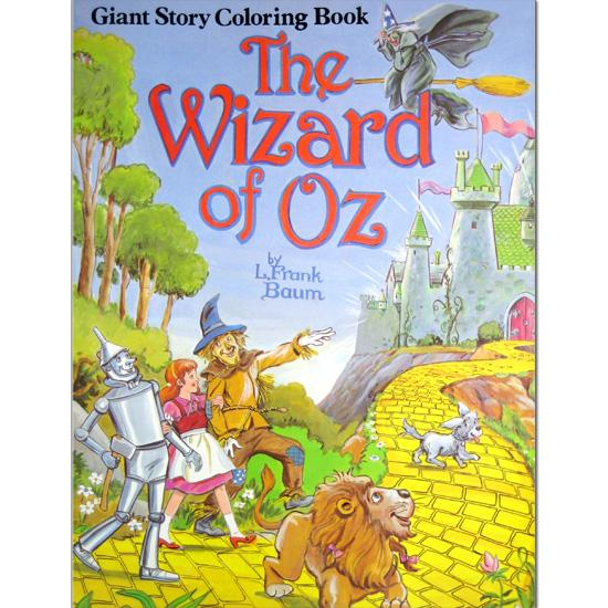 giant story coloring books the wizard of oz thumbnail 1 - Wizard Of Oz Coloring Book