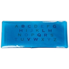 Alpha - Numeric Gel Pads -  Upper - Case Alphabet