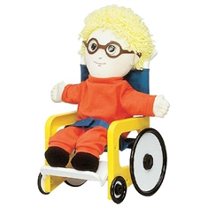 Just Like Me Doll Accessories - Wheelchair