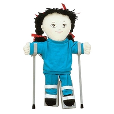 Just Like Me Doll Accessories - Forearm Crutches