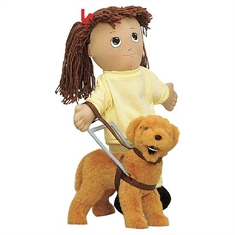 Just Like Me Doll Accessories - Guide Dog & Cane
