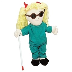 Just Like Me Doll Accessories - Dark Vinyl Glasses