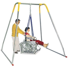 Wheelchair Swing - Indoor Swing Frame Only