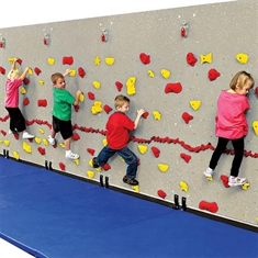 Early Childhood Adaptive Climbing Wall – Three Panel