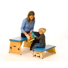 Kaye Adjustable Tilting Bench -Small Regular