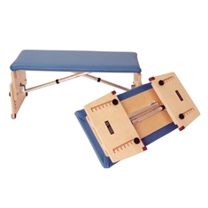 Kaye Adjustable Tilting Bench - Small Folding