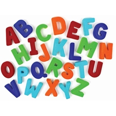 Soft Magnetic Alphabet