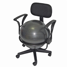 Ball Chair with Armrests - Adult