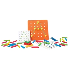 Stringing Pegs and Pegboard Set