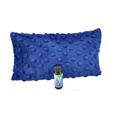 Sleepy Time Pillow - Plush Navy