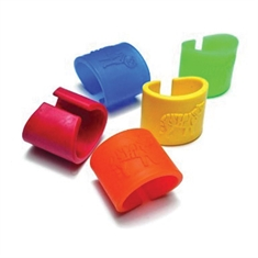 Tactile Tiger Chewable Arm Band Set of 5