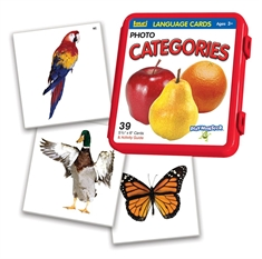Language Cards Catagories