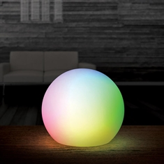 "8"" LED Orb Deco Ball"