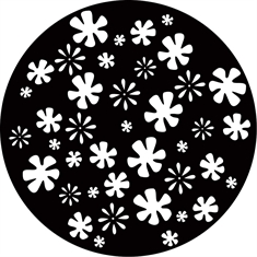 Gobo Wheel - Disco Flowers