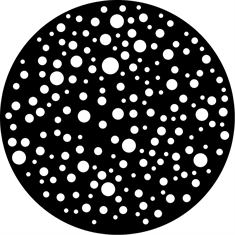 Gobo Wheel - Dots