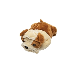 Plush Weighed Pets - Large Bull Dog