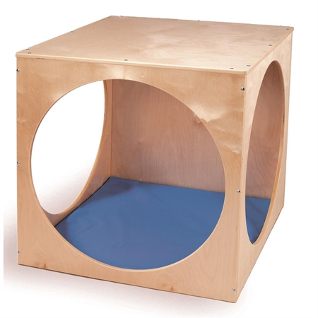 Privacy Cube with Floor Mat