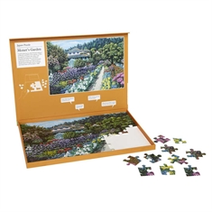 Jig Saw Puzzle- Monet's Garden