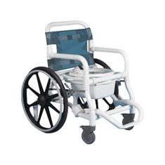 Deluxe Self-Propelled Shower/Commode Chair