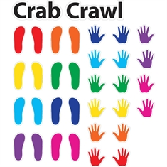 Fit & Fun™ Crab Crawl™ Super Stickers™