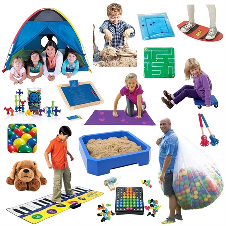 At Home Summer Sensory Kit - Large
