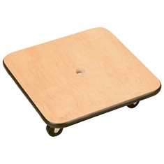 Wooden Scooter with Vinyl Bumpers - Large Square