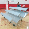 Tip & Roll Bleachers - 3 Rows -  15'L