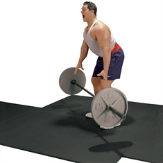 Weight Room Floor Pad - 4' x 6' x 1/2''