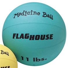 FlagHouse Rubber Medicine Balls - 11 lbs