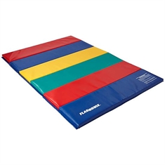 FlagHouse Deluxe Rainbow Mats - 2 Sided Hook & Loop - 5' x 10'