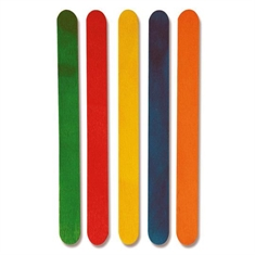 Colored Popsicle Stick