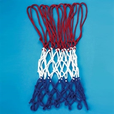 Red  White and Blue Basketball Net - Pair