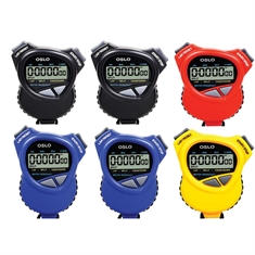 Robic® Double Stopwatch - 6 color set