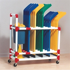Hockey Storage Cart