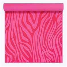 Gaiam Kids Yoga Mat - Pink Zebra