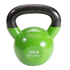 Body Solid® Vinyl Coated Colored Kettlebells 30lb.