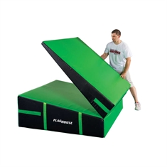 Cheer Folding Incline Mats - Unfolded  120x60x22