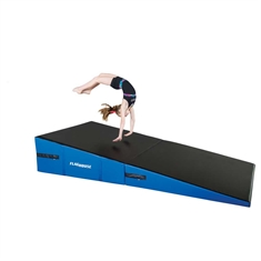 Cheer Folding Incline Mats - Unfolded 144 x 72 x 22