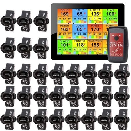 Heart Zones Step Tracker Strider System - 30 pack