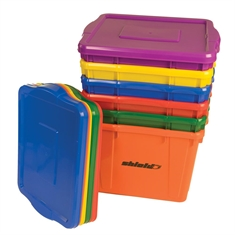 Shield® Rainbow Bin Set