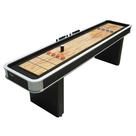 Atomic 9 ft. Platinum Shuffleboard Table