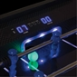 Azure LED Light Up Foosball Table - Thumbnail 1