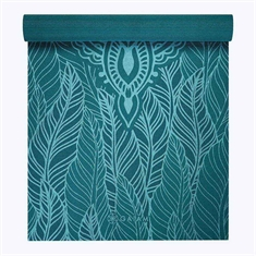 Gaiam Spring Fern - 4mm Printed Yoga Mat