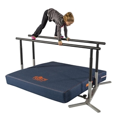 "36"" Complete Parallel Bars Set - Base and Rails"