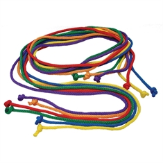 Nylon Jump Rope Rainbow Set - 8'