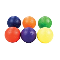 FlagHouse Foam Handball Rainbow Set - Elementary and Middle School