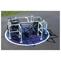 SportsPlay™ Wheelchair Accessible Merry Go Round