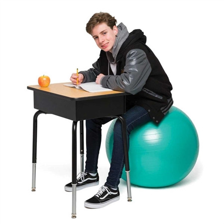 Bouncyband® No Roll Weighted Ball Chair - 65cm